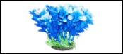 Уют Растение аквариумное 12 см, Людвигия сине-белая 0,1кг ВК306 Kormberi.ru магазин товаров для ваших животных