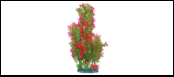 Уют Растение аквариумное 44 см, людвигия зелено-красная ВК603 Kormberi.ru магазин товаров для ваших животных