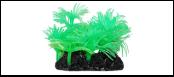 Уют коралл аквариумный 10 см,силикон Актинии Солнечные зеленые ВК716 (Р) Kormberi.ru магазин товаров для ваших животных