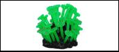 Уют коралл аквариумный 10 см,силикон Аномоны зеленые ВК703 (Р) Kormberi.ru магазин товаров для ваших животных