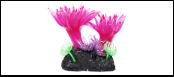 Уют коралл аквариумный 8 см,силикон Актни малые лиловые ВК728 (Р) Kormberi.ru магазин товаров для ваших животных