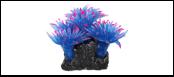 Уют коралл аквариумный 10 см,силикон Актни синии с красным ВК712 (Р) Kormberi.ru магазин товаров для ваших животных