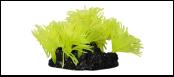 Уют коралл аквариумный 10 см,силикон Актни солнечные желтые ВК718 (Р) Kormberi.ru магазин товаров для ваших животных