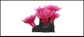 Уют коралл аквариумный 10 см,силикон Актни фиолетовые ВК711 (Р) Kormberi.ru магазин товаров для ваших животных