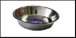 Уют Миска метал. для щенков 25 см (1*12шт) АМШ25 Kormberi.ru магазин товаров для ваших животных