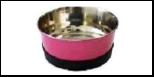 Уют Миска метал. цветная утяжелен. не скольз. 0,30л  АМц030 Kormberi.ru магазин товаров для ваших животных