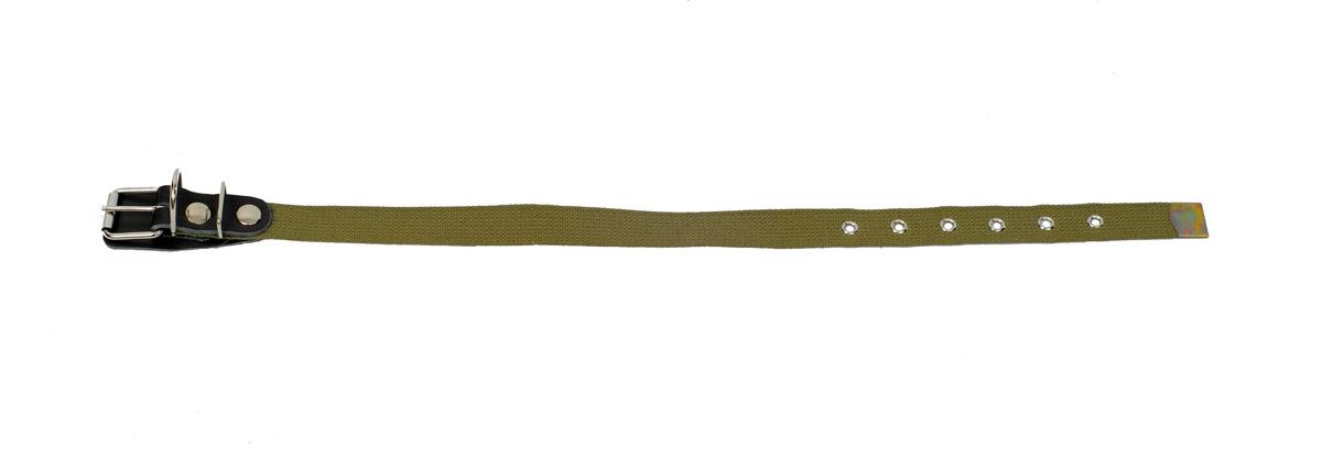 ошейник 25 брезент о25б (40-54 см x 25 мм) Kormberi.ru магазин товаров для ваших животных