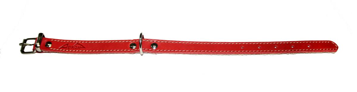 ошейник 16п красный о16пкр (26 - 34 см x 16 мм) Kormberi.ru магазин товаров для ваших животных