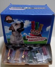 Верные друзья Лакомство д/собак DENTA STAR (18г) цветные (уп100) Kormberi.ru магазин товаров для ваших животных