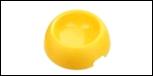 """Миска """"пончик"""" 1800 мл желтая 1*20шт МАК92 Kormberi.ru магазин товаров для ваших животных"""
