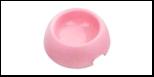 """Миска """"пончик"""" 400 мл розовая 1*90шт МАК73 Kormberi.ru магазин товаров для ваших животных"""