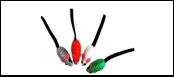 Мышь-погремушка цвет. нейлон 5см ИУ94 (уп20) Kormberi.ru магазин товаров для ваших животных