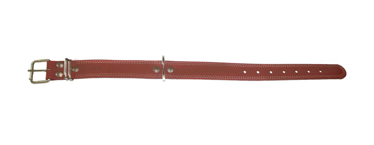ошейник 35/1с коньячный о35/1ск (52 - 70 см x 35 мм) Kormberi.ru магазин товаров для ваших животных
