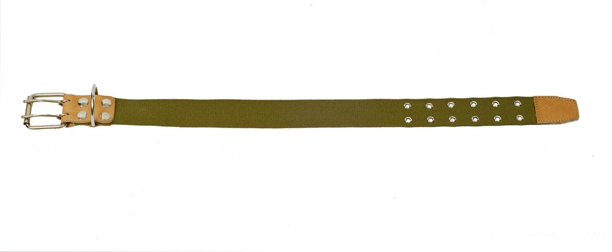 ошейник 45 брезент/д о45бр/д (61-75 см х 45 мм) Kormberi.ru магазин товаров для ваших животных