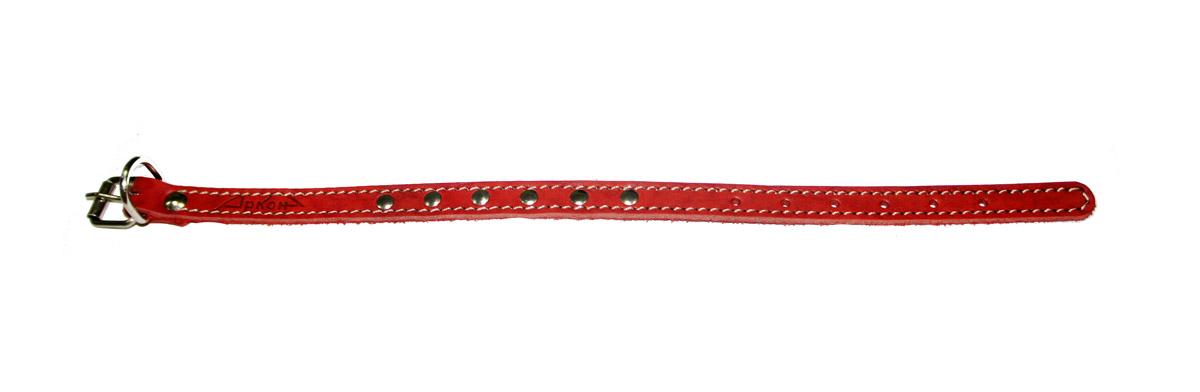 ошейник 14 красный о14кр (22 - 29 см x 14 мм Kormberi.ru магазин товаров для ваших животных