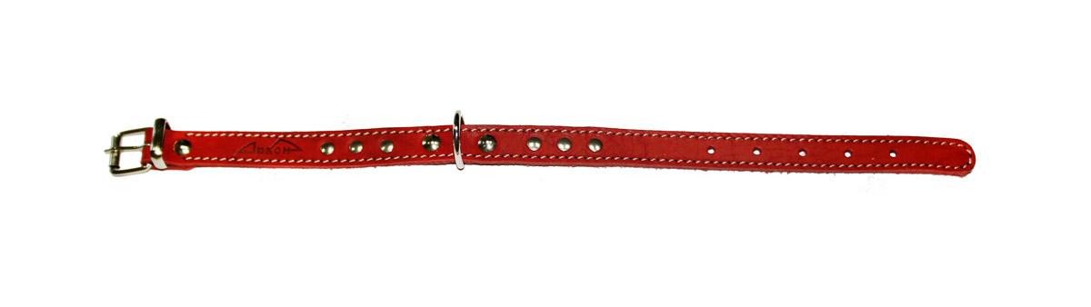 ошейник 16 красный о16кр (26 - 34 см x 16 мм) Kormberi.ru магазин товаров для ваших животных