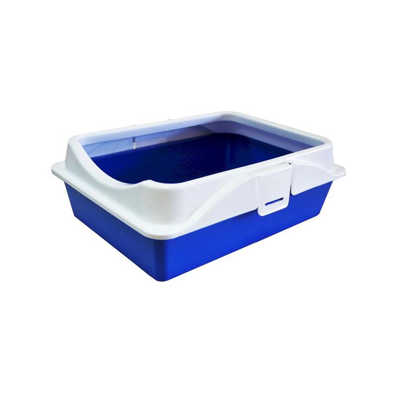 туалет RICH с рамкой на защелках 40,5*30*14 см  (уп 6) 11130 Kormberi.ru магазин товаров для ваших животных