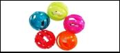 """Мяч 4см -погремушка """"решетч.""""ИУ1 (уп25) Kormberi.ru магазин товаров для ваших животных"""