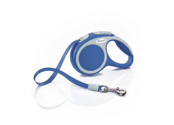 Флекси 3 м 12 кг Варио XS синяя, Рулетка-ремень (Р) Kormberi.ru магазин товаров для ваших животных