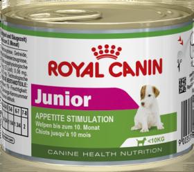 Royal Canin Юниор мусс 12*195г. банка Kormberi.ru магазин товаров для ваших животных