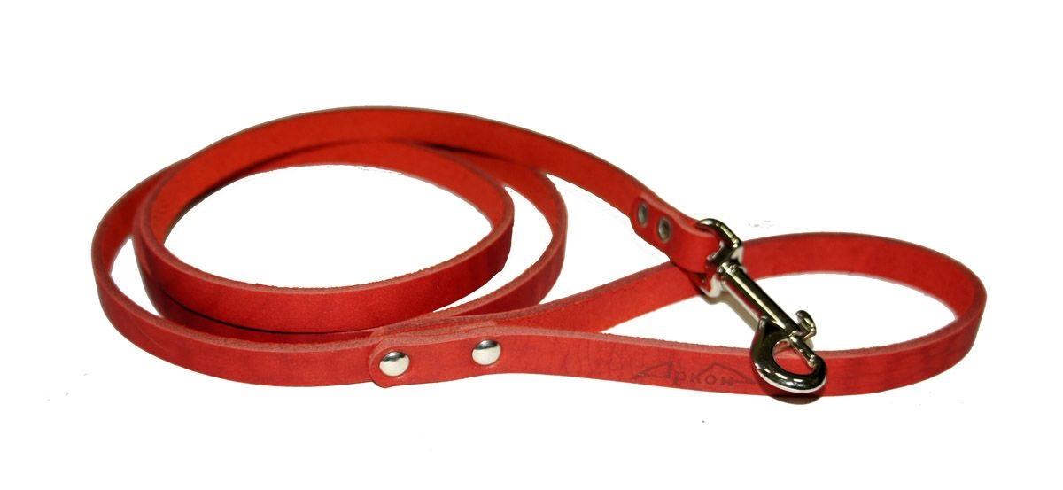 поводок  8 красный п8кр Kormberi.ru магазин товаров для ваших животных