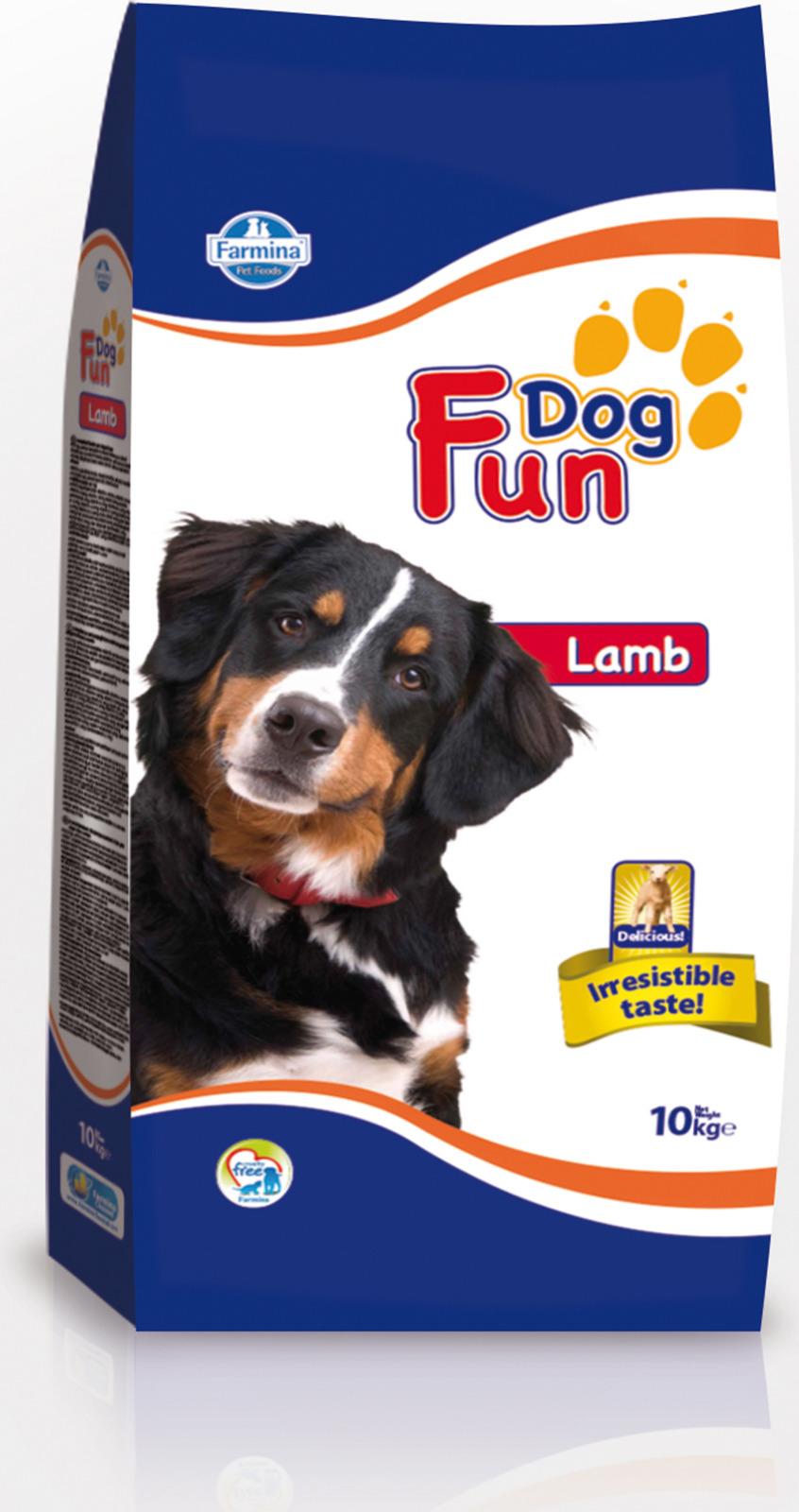 FUN DOG LAMB (10кг) д/c Ягнёнок Kormberi.ru магазин товаров для ваших животных