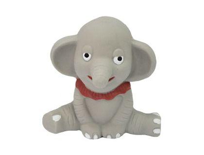 №1 №1 Игрушка д/собак Слонёнок с пищалкой латекс 10см ЛС57 Kormberi.ru магазин товаров для ваших животных