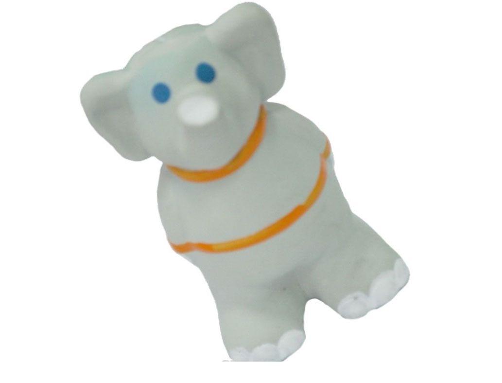 №1 №1 Игрушка д/собак Слонёнок с пищалкой латекс 9см ЛС16 Kormberi.ru магазин товаров для ваших животных