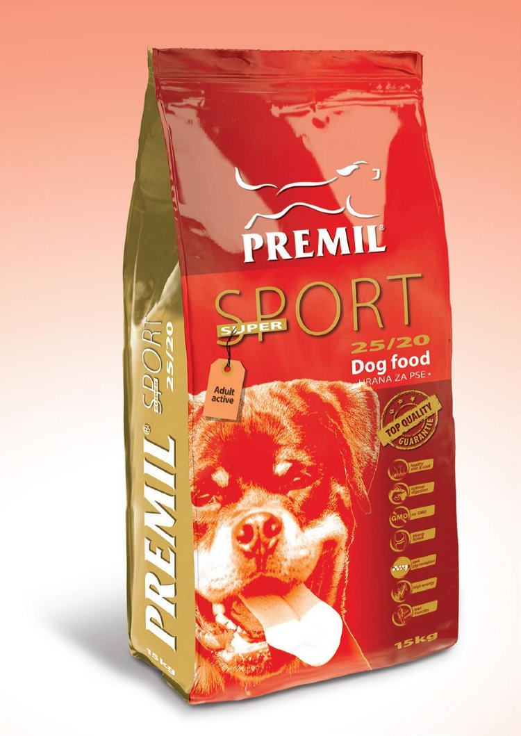 PREMIL (Сербия) PREMIL SUPER SPORT для спортивных и рабочих собак 15кг Kormberi.ru магазин товаров для ваших животных