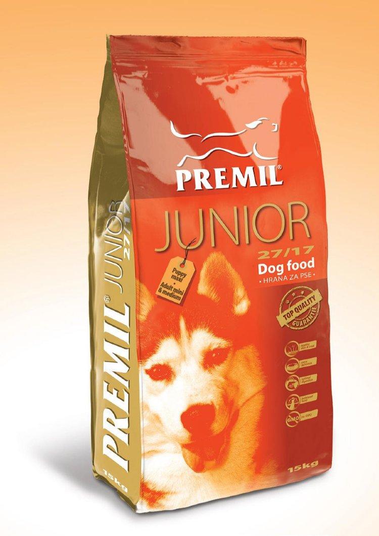 PREMIL (Сербия) PREMIL  JUNIOR ( 3кг) для щенков молодых собак (78% протеинов животного происхождения) Kormberi.ru магазин товаров для ваших животных