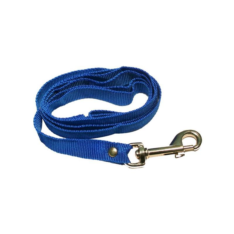 Поводок капрон узкий дл 1,5м синий 0410С Kormberi.ru магазин товаров для ваших животных