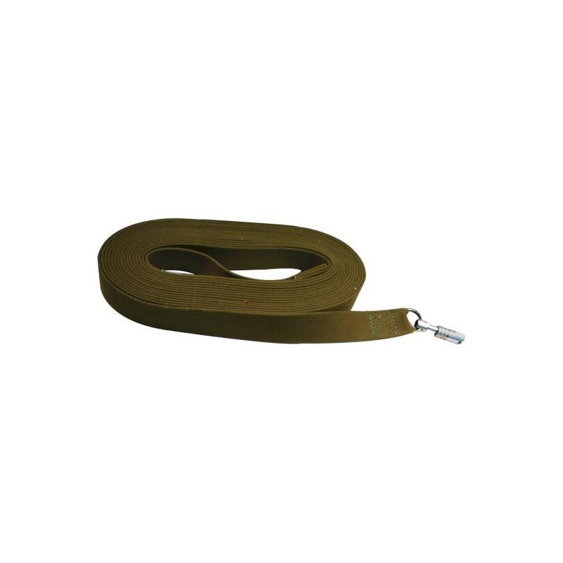 Поводок брезент 20мм дл 3м зелёный 0450З Kormberi.ru магазин товаров для ваших животных