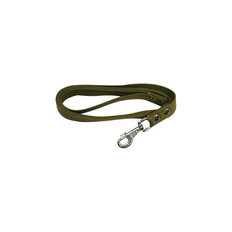 Поводок брезент 25мм дл 2м зелёный 0462З Kormberi.ru магазин товаров для ваших животных