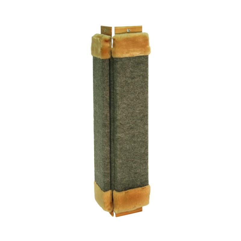 38063 Когтеточка ковровая угловая 75 см Kormberi.ru магазин товаров для ваших животных
