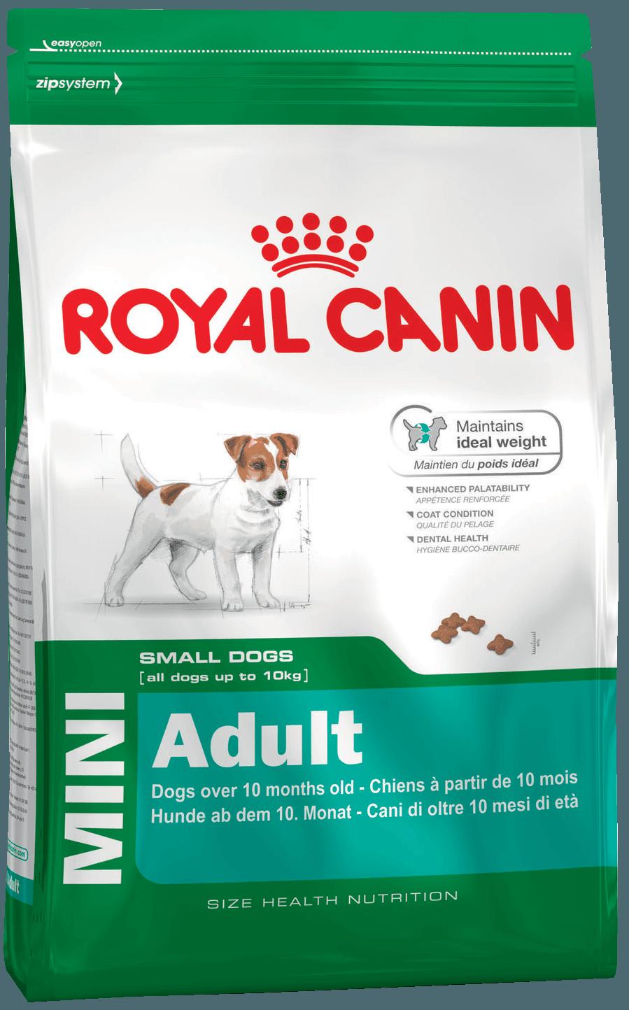 Royal Canin Мини Эдалт 2кг (уп6) Kormberi.ru магазин товаров для ваших животных