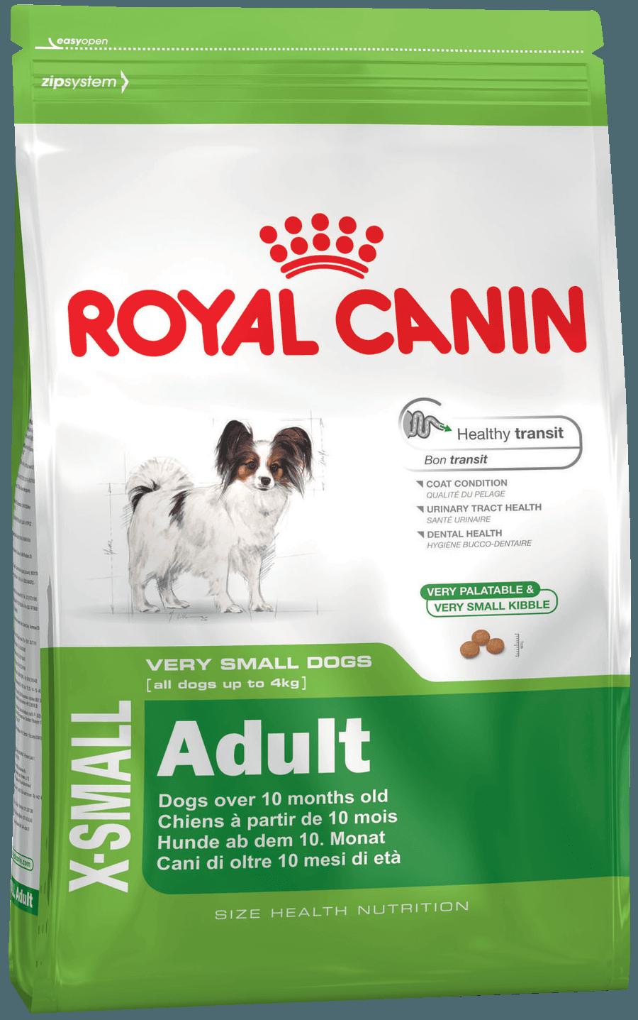 Royal Canin Икс Смол Эдалт 0,5кг (уп10) Kormberi.ru магазин товаров для ваших животных
