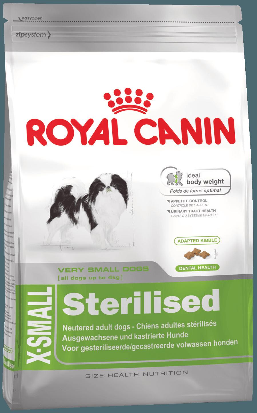 Royal Canin Икс Смол стерилайзд Эдалт 0,5кг Kormberi.ru магазин товаров для ваших животных