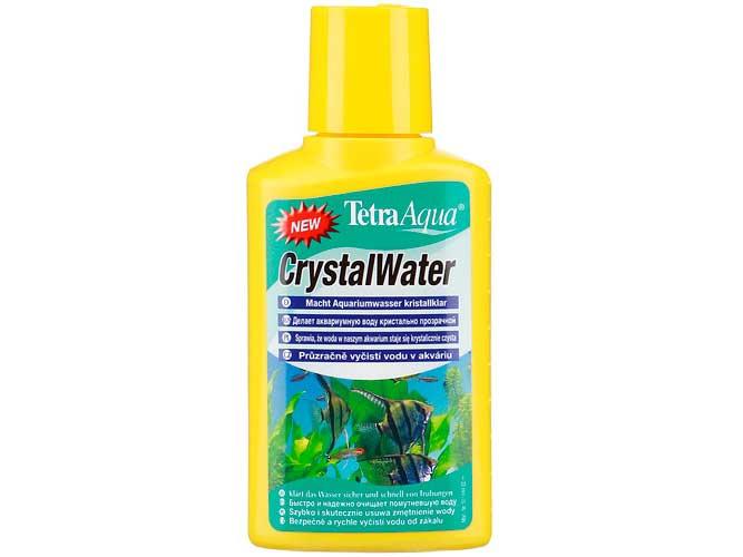 Кондиционер Tetra Aqua Crystal Water 100ml , для прозрачности воды 144040 В Kormberi.ru магазин товаров для ваших животных