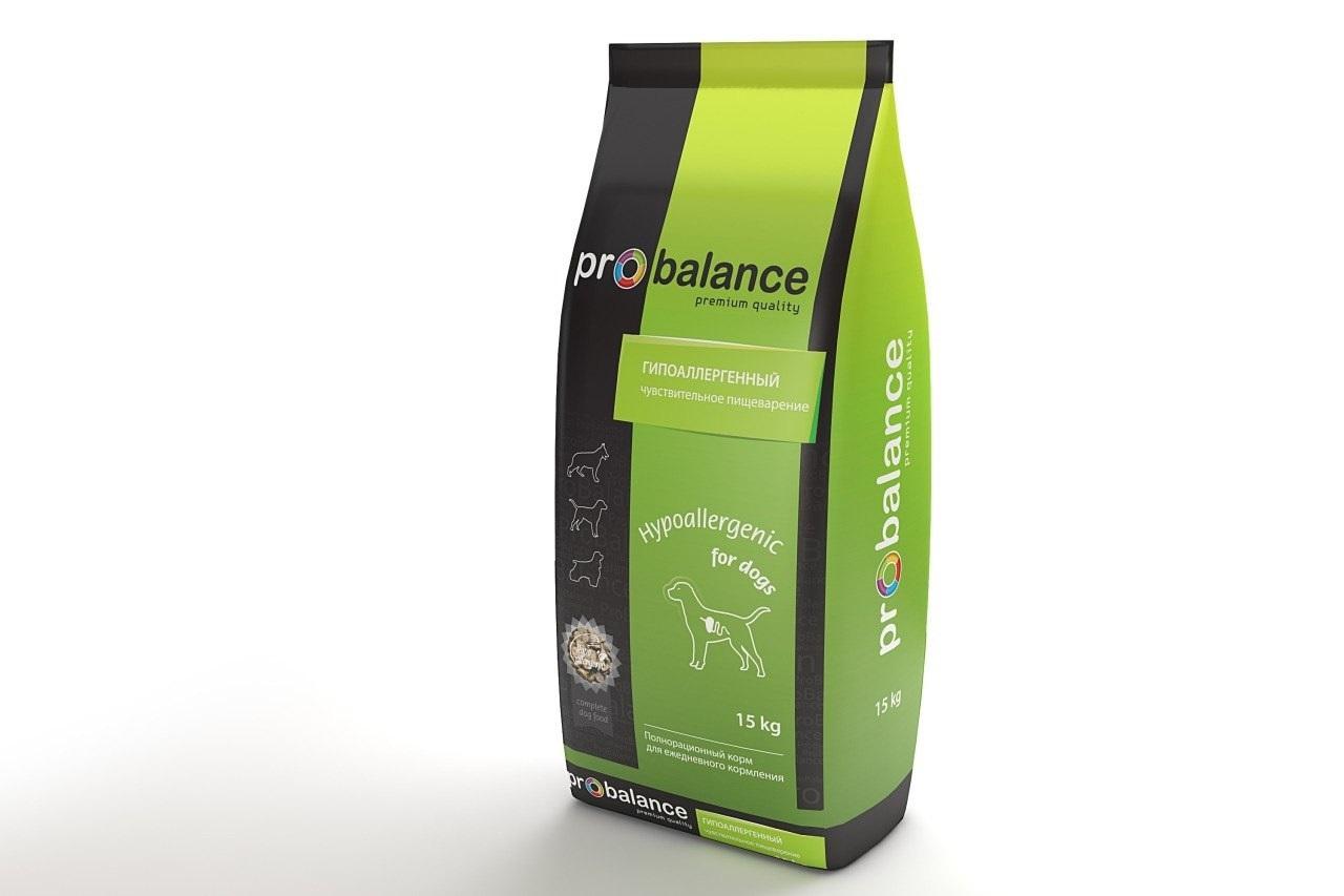 ProBalance ProBalance (15кг) д/с гипоаллерген. Hypoallergenic Kormberi.ru магазин товаров для ваших животных