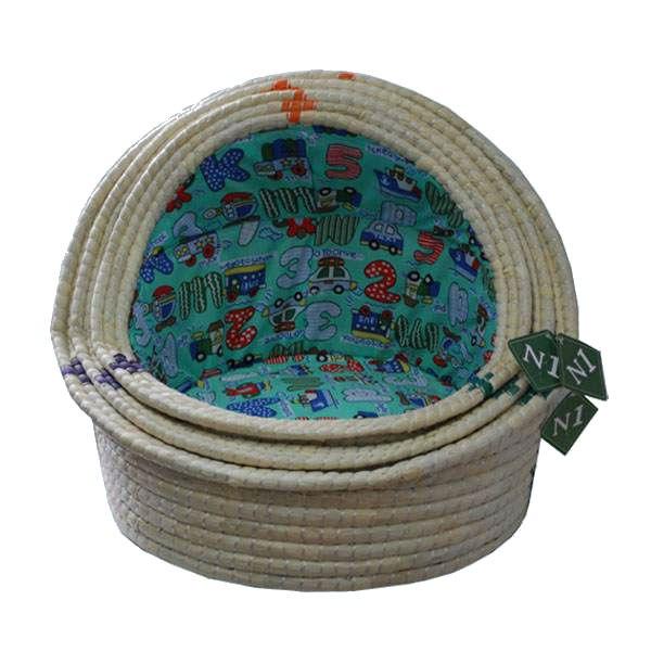 №1 №1 Лежанка-ракушка 2003/2 плетеная 46*37*8см 1,02кг Kormberi.ru магазин товаров для ваших животных