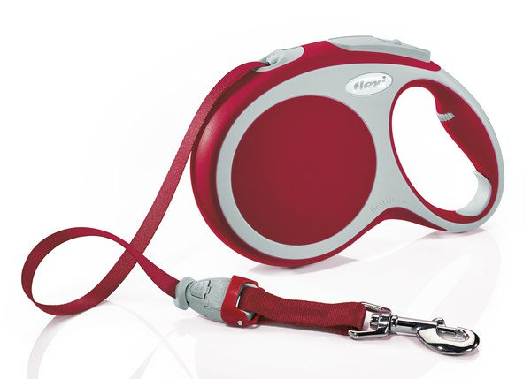 Флекси 5 м 25 кг Vario tape M красный (red) Ремень-рулетка Kormberi.ru магазин товаров для ваших животных
