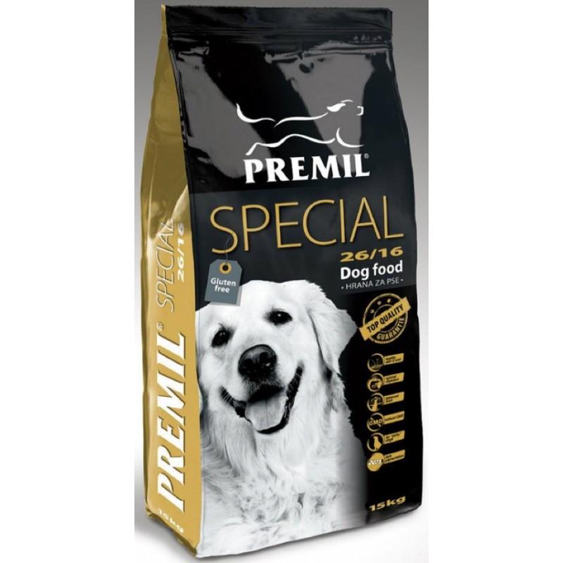 PREMIL (Сербия) PREMIL SPECIAL для выставочных собак 74% протеинов 15кг Kormberi.ru магазин товаров для ваших животных