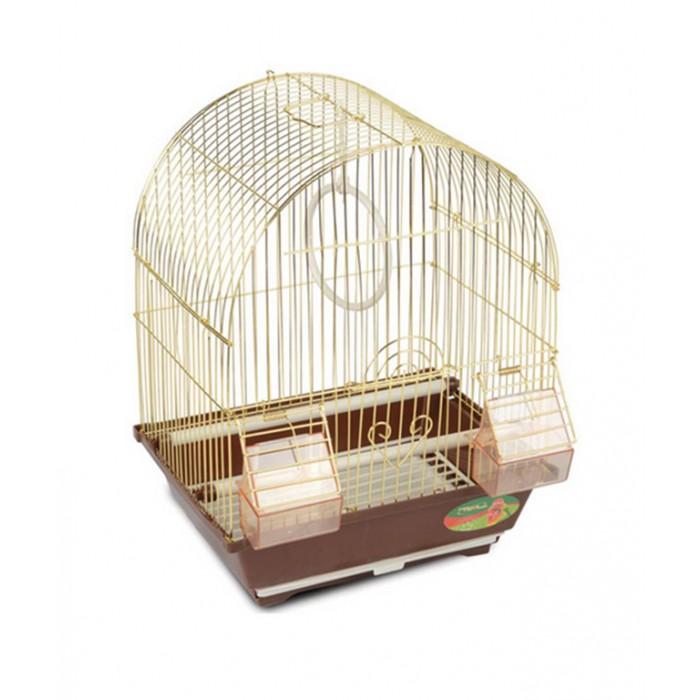 Клетка д/птиц 100-G 30х23х39см (ЗОЛОТАЯ) (уп20) Kormberi.ru магазин товаров для ваших животных
