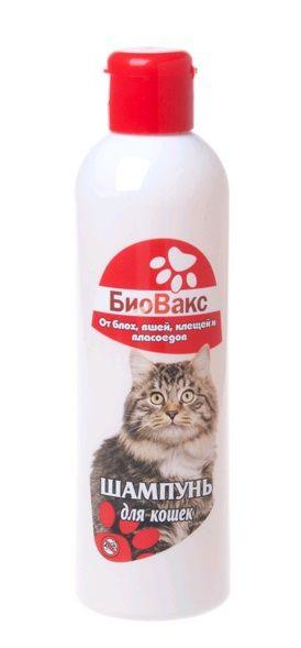 """Шампунь """"БИОВАКС"""" д/кошек инсектицидный 250мл (уп12) Kormberi.ru магазин товаров для ваших животных"""