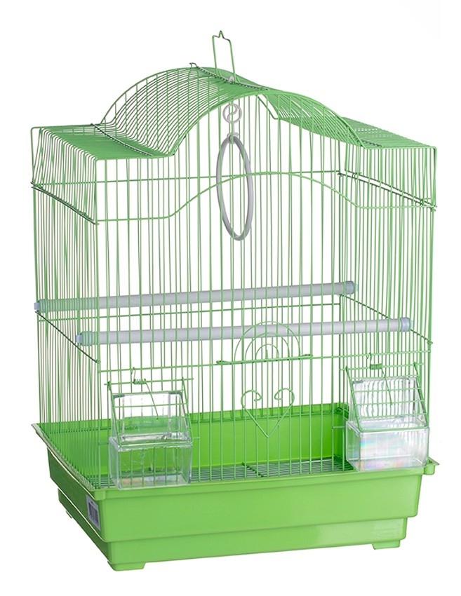 Клетка д/птиц 413 35х28х44см (уп18) Kormberi.ru магазин товаров для ваших животных