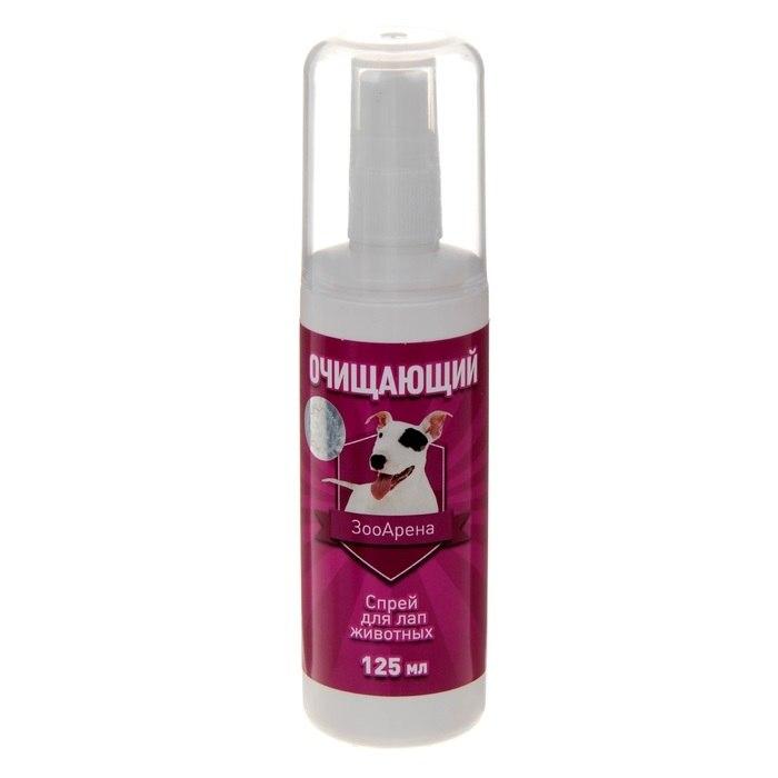 Очищающий спрей для лап животных 125мл. (уп36) Kormberi.ru магазин товаров для ваших животных