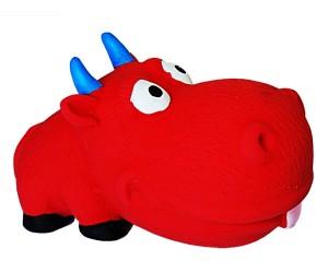 №1 №1 Игрушка для собак Бычок с пищалкой, латекс, 8,0 см, (288шт) ЛС83 Kormberi.ru магазин товаров для ваших животных