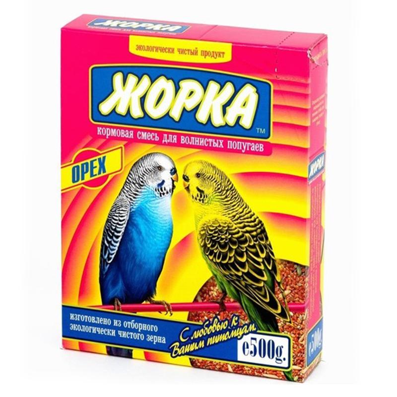Жорка ЖОРКА 500г д/волн.попугаев Орех (уп14) Kormberi.ru магазин товаров для ваших животных