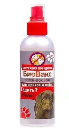 """Биовакс БиоВакс Спрей д/собак """"Гадить? Нет!"""" (лосьон) 180мл (уп12) Kormberi.ru магазин товаров для ваших животных"""