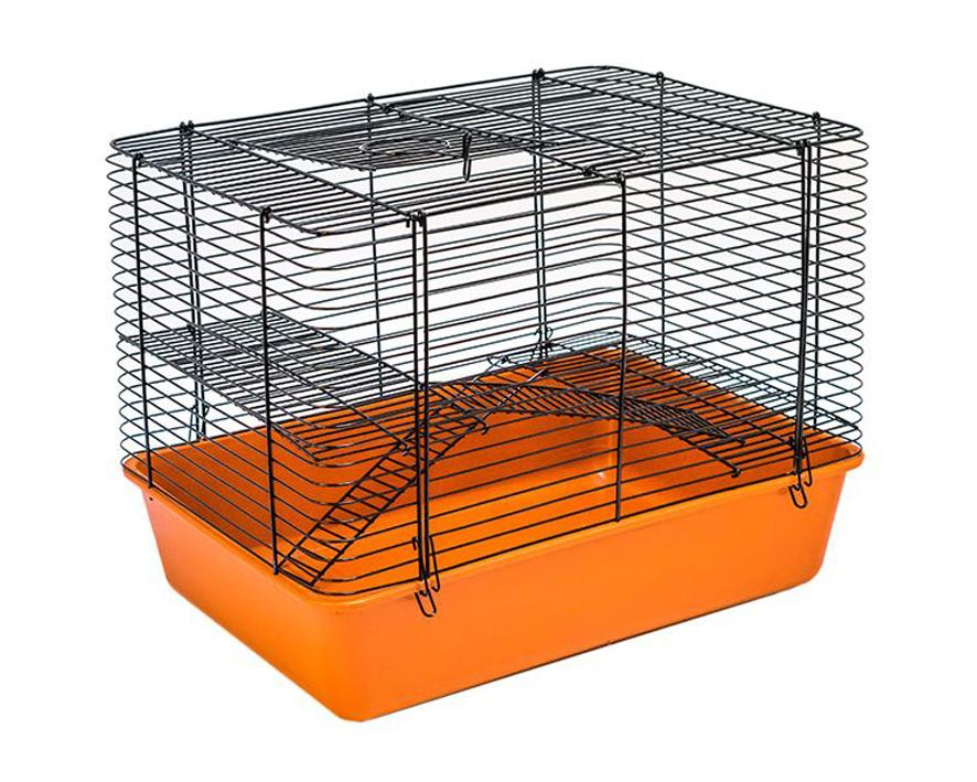 №1 №1 Клетка д/грызуна 30,5*42,5*33,5 2 эт.складная РПК11 Kormberi.ru магазин товаров для ваших животных